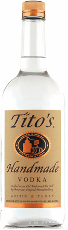 Titos Vodka Handmade